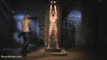 Photo number 8 from Mr Keys Takes The House Slave To The Next Level shot for Bound Gods on Kink.com. Featuring Sebastian Keys and Jackson Fillmore in hardcore BDSM & Fetish porn.