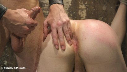 Photo number 7 from Mr Keys Takes The House Slave To The Next Level shot for Bound Gods on Kink.com. Featuring Sebastian Keys and Jackson Fillmore in hardcore BDSM & Fetish porn.