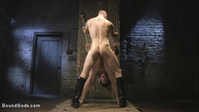 Photo number 9 from Mr Keys Takes The House Slave To The Next Level shot for Bound Gods on Kink.com. Featuring Sebastian Keys and Jackson Fillmore in hardcore BDSM & Fetish porn.