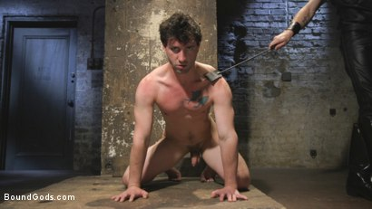 Photo number 4 from Mr Keys Takes The House Slave To The Next Level shot for Bound Gods on Kink.com. Featuring Sebastian Keys and Jackson Fillmore in hardcore BDSM & Fetish porn.