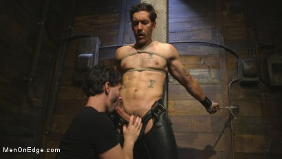 Photo number 1 from Hot leather stud with a fat cock gets edged shot for Men On Edge on Kink.com. Featuring Dale Cooper in hardcore BDSM & Fetish porn.
