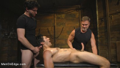 Photo number 10 from Hot leather stud with a fat cock gets edged shot for Men On Edge on Kink.com. Featuring Dale Cooper in hardcore BDSM & Fetish porn.