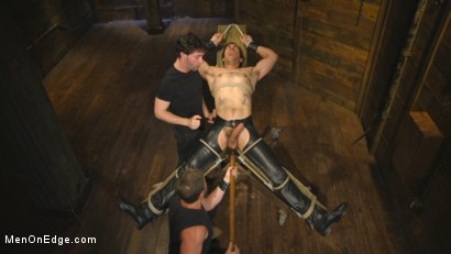 Photo number 11 from Hot leather stud with a fat cock gets edged shot for Men On Edge on Kink.com. Featuring Dale Cooper in hardcore BDSM & Fetish porn.