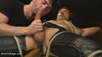 Photo number 12 from Hot leather stud with a fat cock gets edged shot for Men On Edge on Kink.com. Featuring Dale Cooper in hardcore BDSM & Fetish porn.