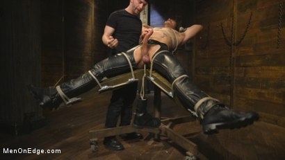 Photo number 5 from Hot leather stud with a fat cock gets edged shot for Men On Edge on Kink.com. Featuring Dale Cooper in hardcore BDSM & Fetish porn.