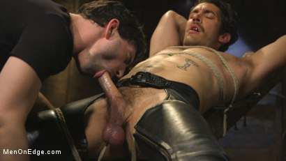 Photo number 6 from Hot leather stud with a fat cock gets edged shot for Men On Edge on Kink.com. Featuring Dale Cooper in hardcore BDSM & Fetish porn.
