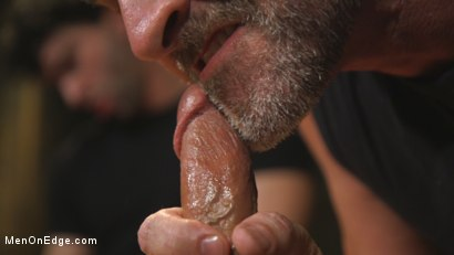 Photo number 7 from Hot leather stud with a fat cock gets edged shot for Men On Edge on Kink.com. Featuring Dale Cooper in hardcore BDSM & Fetish porn.