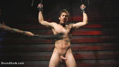 Photo number 9 from A Date with Mr Wilde shot for Bound Gods on Kink.com. Featuring Dale Cooper and Christian Wilde in hardcore BDSM & Fetish porn.