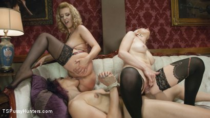 Photo number 11 from Kelli Lox is tricked, put in bondage then fucked in front of the world shot for TS Pussy Hunters on Kink.com. Featuring Lorelei Lee, Kelli Lox and Cherry Torn in hardcore BDSM & Fetish porn.