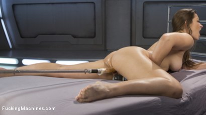 Photo number 5 from Dani-Fucking-Daniels is Fucked Into Squirting Orgasms shot for Fucking Machines on Kink.com. Featuring Dani Daniels in hardcore BDSM & Fetish porn.