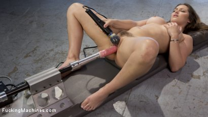 Photo number 8 from Dani-Fucking-Daniels is Fucked Into Squirting Orgasms shot for Fucking Machines on Kink.com. Featuring Dani Daniels in hardcore BDSM & Fetish porn.
