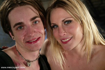 Photo number 15 from Harmony and Kade shot for Men In Pain on Kink.com. Featuring Harmony and Kade in hardcore BDSM & Fetish porn.