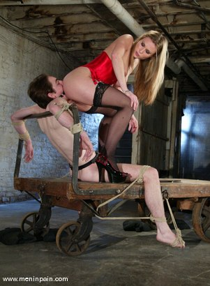 Photo number 7 from Harmony and Kade shot for Men In Pain on Kink.com. Featuring Harmony and Kade in hardcore BDSM & Fetish porn.