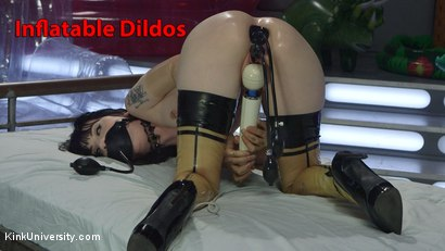 Photo number 24 from Inflatable Dildos shot for Kink University on Kink.com. Featuring Danarama and Charlotte Sartre in hardcore BDSM & Fetish porn.