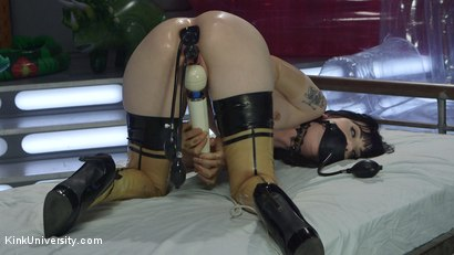 Photo number 11 from Inflatable Dildos shot for Kink University on Kink.com. Featuring Danarama and Charlotte Sartre in hardcore BDSM & Fetish porn.
