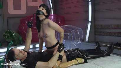 Photo number 17 from Inflatable Dildos shot for Kink University on Kink.com. Featuring Danarama and Charlotte Sartre in hardcore BDSM & Fetish porn.
