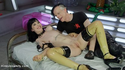 Photo number 23 from Inflatable Dildos shot for Kink University on Kink.com. Featuring Danarama and Charlotte Sartre in hardcore BDSM & Fetish porn.