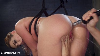 Photo number 9 from Horny Anal Slut Squirts All Day Long! shot for Electro Sluts on Kink.com. Featuring Savannah Fox and Mona Wales in hardcore BDSM & Fetish porn.
