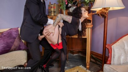 Photo number 5 from Arabelle Raphael Gets Sweet Revenge on Rich Bitch Violet Monroe shot for The Upper Floor on Kink.com. Featuring Xander Corvus, Arabelle Raphael and Violet Monroe in hardcore BDSM & Fetish porn.