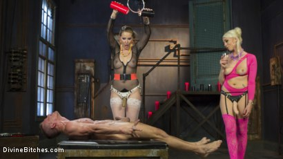 Photo number 15 from Marlowe and Lee shot for Divine Bitches on Kink.com. Featuring Lorelei Lee, Maitresse Madeline Marlowe and Alexander Gustavo in hardcore BDSM & Fetish porn.