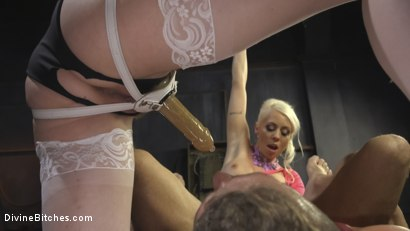 Photo number 8 from Marlowe and Lee shot for Divine Bitches on Kink.com. Featuring Lorelei Lee, Maitresse Madeline Marlowe and Alexander Gustavo in hardcore BDSM & Fetish porn.