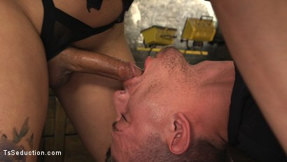 Photo number 3 from Bionic TS Bitch shot for TS Seduction on Kink.com. Featuring Yasmin Lee and Alexander Gustavo in hardcore BDSM & Fetish porn.