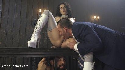 Photo number 15 from Basement Cuckold Debasement shot for Divine Bitches on Kink.com. Featuring Will Havoc, Arabelle Raphael and DJ in hardcore BDSM & Fetish porn.
