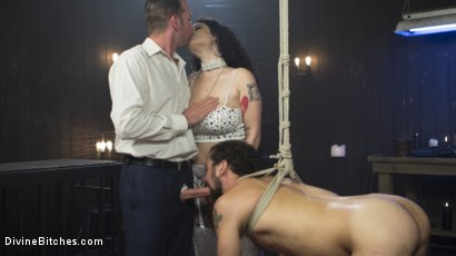 Photo number 2 from Basement Cuckold Debasement shot for Divine Bitches on Kink.com. Featuring Will Havoc, Arabelle Raphael and DJ in hardcore BDSM & Fetish porn.