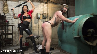 Photo number 6 from Divine Dungeon Punishment shot for Divine Bitches on Kink.com. Featuring Lily Lane and Mike Panic in hardcore BDSM & Fetish porn.