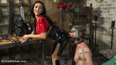 Photo number 7 from Divine Dungeon Punishment shot for Divine Bitches on Kink.com. Featuring Lily Lane and Mike Panic in hardcore BDSM & Fetish porn.