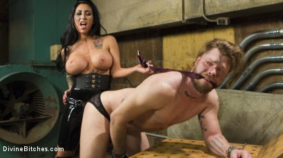 Photo number 12 from Divine Dungeon Punishment shot for Divine Bitches on Kink.com. Featuring Lily Lane and Mike Panic in hardcore BDSM & Fetish porn.