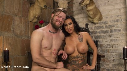 Photo number 16 from Divine Dungeon Punishment shot for Divine Bitches on Kink.com. Featuring Lily Lane and Mike Panic in hardcore BDSM & Fetish porn.
