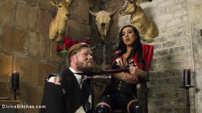 Photo number 1 from Divine Dungeon Punishment shot for Divine Bitches on Kink.com. Featuring Lily Lane and Mike Panic in hardcore BDSM & Fetish porn.