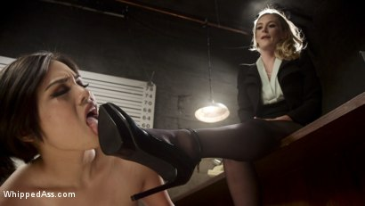Photo number 1 from Interrogation Training: Deputy detective fucked, beat & waterboarded! shot for Whipped Ass on Kink.com. Featuring Mona Wales and Milcah Halili in hardcore BDSM & Fetish porn.