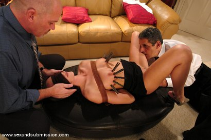 Photo number 3 from My Submissive Wife shot for Sex And Submission on Kink.com. Featuring Mark Davis, Herschel Savage and Katrina Isis in hardcore BDSM & Fetish porn.