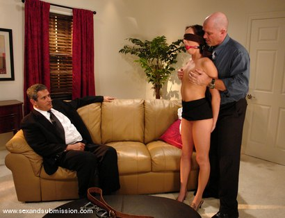 Photo number 1 from My Submissive Wife shot for Sex And Submission on Kink.com. Featuring Mark Davis, Herschel Savage and Katrina Isis in hardcore BDSM & Fetish porn.