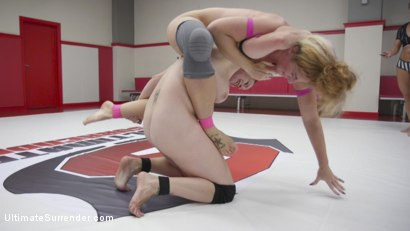 Photo number 6 from Elite Wrestler Destroyed on the mats, Lifted and Fucked shot for Ultimate Surrender on Kink.com. Featuring Bella Rossi and Savannah Fox in hardcore BDSM & Fetish porn.