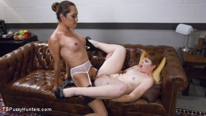 Photo number 12 from Divorcee arouses herself and attorney talking about cheating husband shot for TS Pussy Hunters on Kink.com. Featuring Jessica Fox and Barbary Rose in hardcore BDSM & Fetish porn.