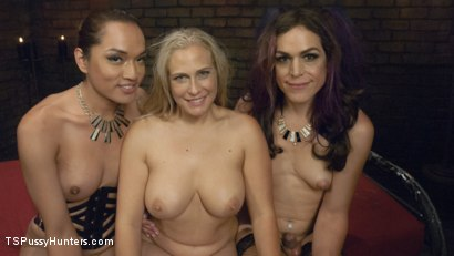 Photo number 15 from Angel Allwood is the gift that keeps on giving and receiving head shot for TS Pussy Hunters on Kink.com. Featuring Kelli Lox, Jessica Fox and Angel Allwood in hardcore BDSM & Fetish porn.