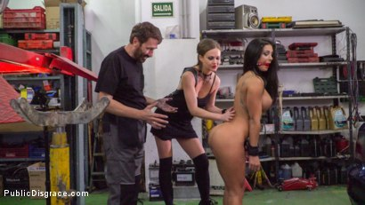 Photo number 12 from Susy Gala is a Public Fuck Doll: Part 1 shot for Public Disgrace on Kink.com. Featuring Steve Holmes, Tina Kay and Susy Gala in hardcore BDSM & Fetish porn.