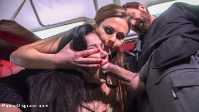 Photo number 11 from Susy Gala - Public Fuck Doll: Part 2 shot for Public Disgrace on Kink.com. Featuring Steve Holmes, Tina Kay and Susy Gala in hardcore BDSM & Fetish porn.
