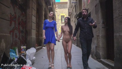 Photo number 12 from Alexa Tomas is The Slutty Pet - Part 1 shot for Public Disgrace on Kink.com. Featuring Steve Holmes, Alexa Tomas and Tina Kay in hardcore BDSM & Fetish porn.