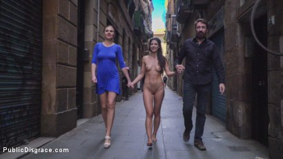 Photo number 14 from Alexa Tomas is The Slutty Pet - Part 1 shot for Public Disgrace on Kink.com. Featuring Steve Holmes, Alexa Tomas and Tina Kay in hardcore BDSM & Fetish porn.