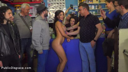 Photo number 23 from Alexa Tomas is The Slutty Pet - Part 1 shot for Public Disgrace on Kink.com. Featuring Steve Holmes, Alexa Tomas and Tina Kay in hardcore BDSM & Fetish porn.