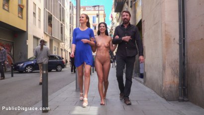 Photo number 21 from Slutty Pet Begs for a Bone!!! - Part 2 shot for Public Disgrace on Kink.com. Featuring Steve Holmes, Alexa Tomas and Tina Kay in hardcore BDSM & Fetish porn.