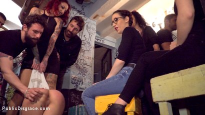 Photo number 12 from Bound Teen Alexa Nasha is Fucked Before a Chanting Crowd - Part 1 shot for Public Disgrace on Kink.com. Featuring Steve Holmes, Silvia Rubi, Juan Lucho and Alexa Nasha in hardcore BDSM & Fetish porn.