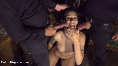 Photo number 28 from Bound Teen Alexa Nasha is Fucked Before a Chanting Crowd - Part 1 shot for Public Disgrace on Kink.com. Featuring Steve Holmes, Silvia Rubi, Juan Lucho and Alexa Nasha in hardcore BDSM & Fetish porn.