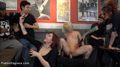 Photo number 19 from Eager Bitch Spanked And Flogged In The Rain! - Part 1 shot for Public Disgrace on Kink.com. Featuring Steve Holmes, Juan Lucho, Nora Barcelona and Silvia Rubi in hardcore BDSM & Fetish porn.