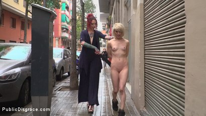 Photo number 24 from Eager Bitch Spanked And Flogged In The Rain! - Part 1 shot for Public Disgrace on Kink.com. Featuring Steve Holmes, Juan Lucho, Nora Barcelona and Silvia Rubi in hardcore BDSM & Fetish porn.
