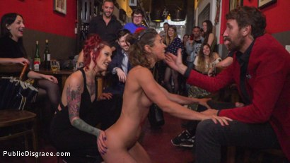 Photo number 3 from Julia Roca Sings in Pain - Part 2 shot for Public Disgrace on Kink.com. Featuring Steve Holmes, Silvia Rubi, Pablo Ferrari and Julia Roca in hardcore BDSM & Fetish porn.
